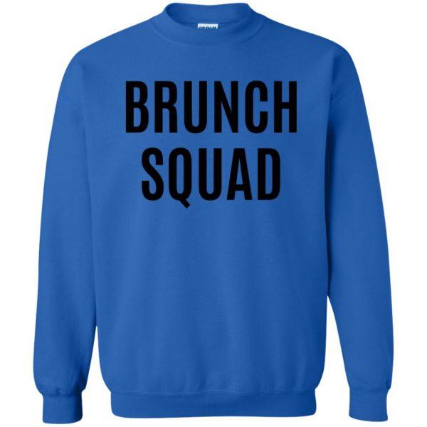brunch squad sweatshirt - royal blue