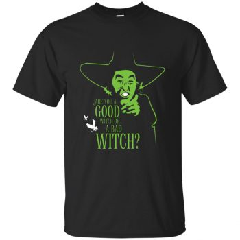 wicked witch shirt - black
