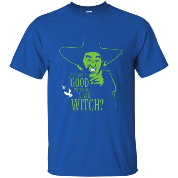 wicked witch t shirt - royal blue