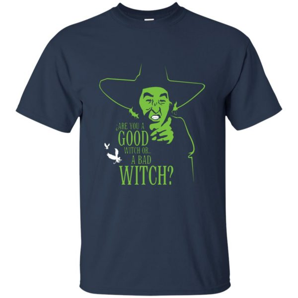 wicked witch t shirt - navy blue