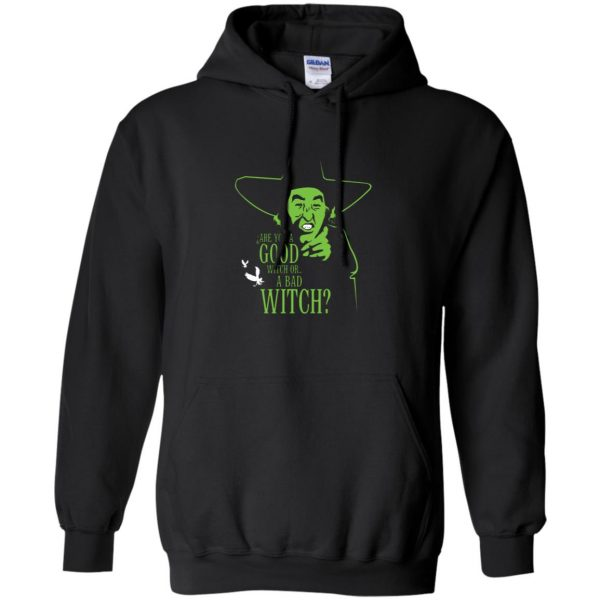 wicked witch hoodie - black