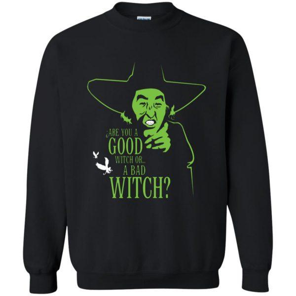 wicked witch sweatshirt - black