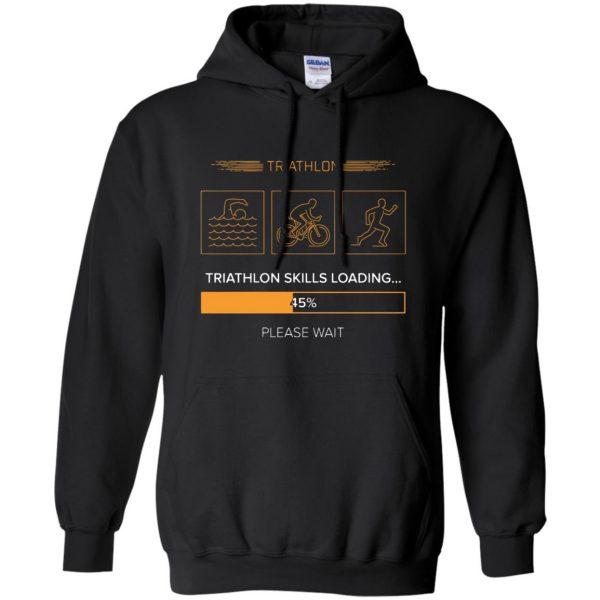 triathlon skills loading hoodie - black