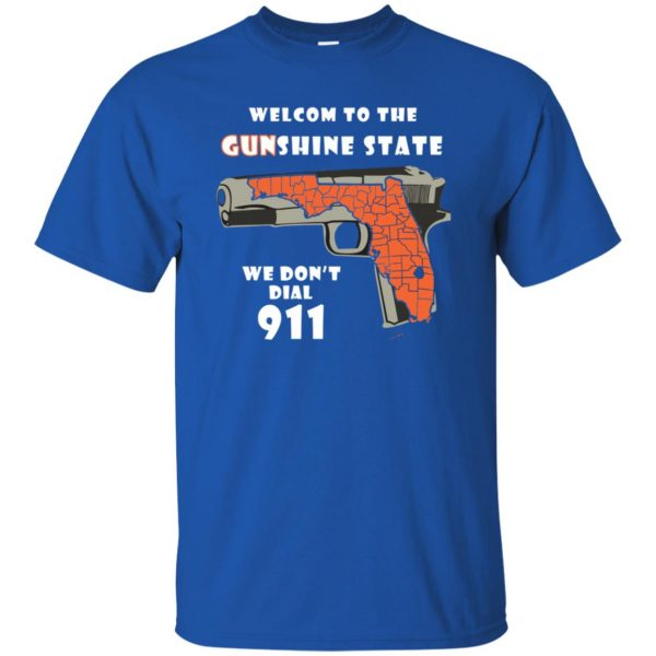 gunshine state shirt t shirt - royal blue