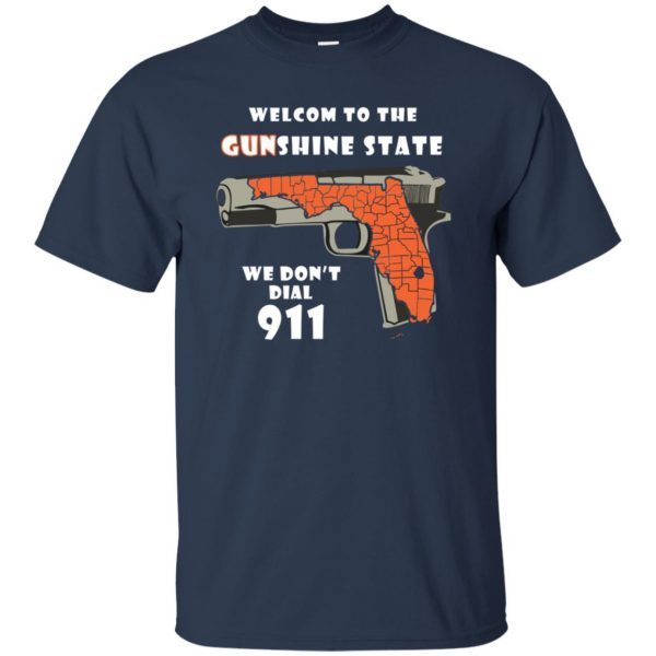 gunshine state shirt t shirt - navy blue