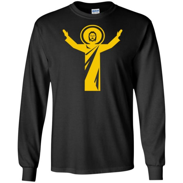 touchdown jesus long sleeve - black