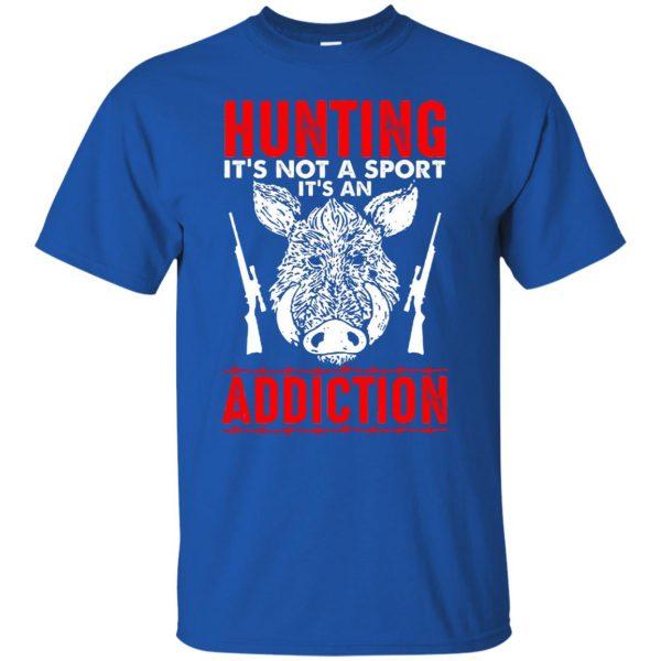 hog hunter shirts t shirt - royal blue