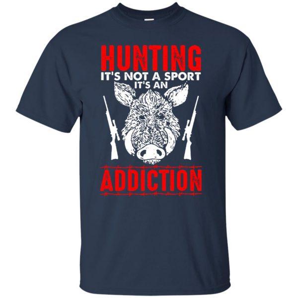 hog hunter shirts t shirt - navy blue