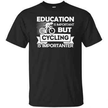 Cycling is importanter - black