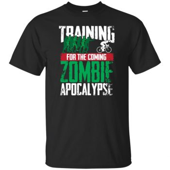 Training For The Zombie Apocalypse Cycling - black