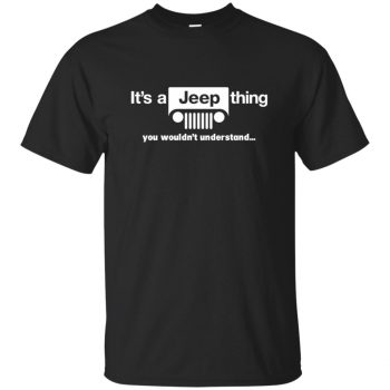 It's a Jeep thing - black