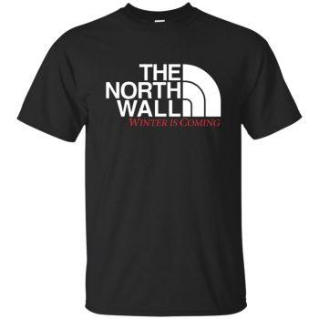 the north wall shirt - black