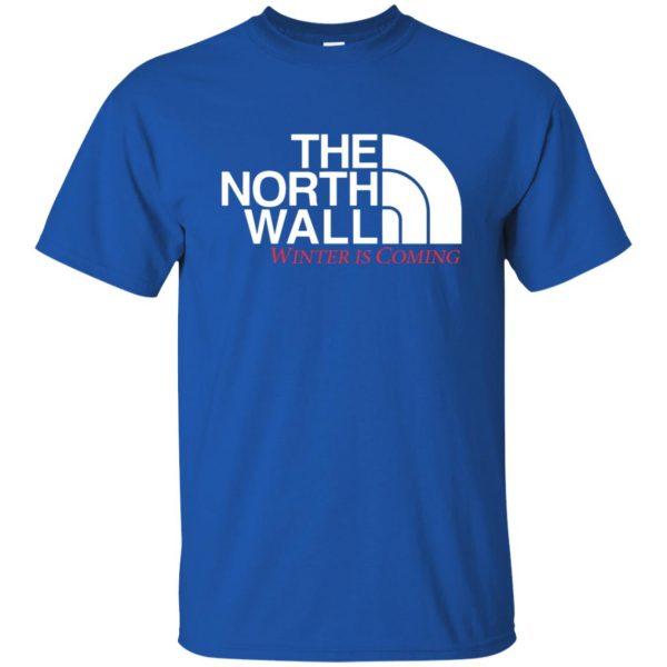 the north wall t shirt - royal blue