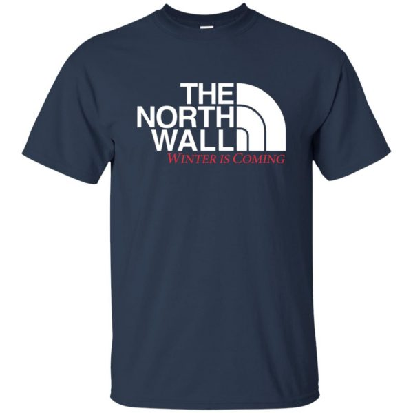 the north wall t shirt - navy blue
