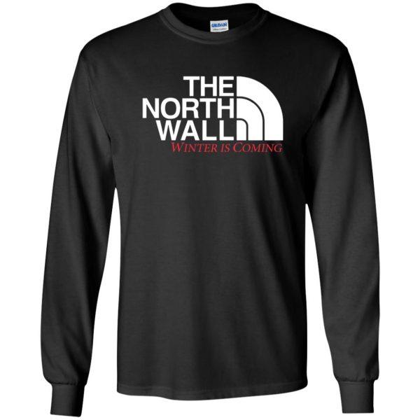 the north wall long sleeve - black