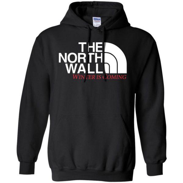 the north wall hoodie - black