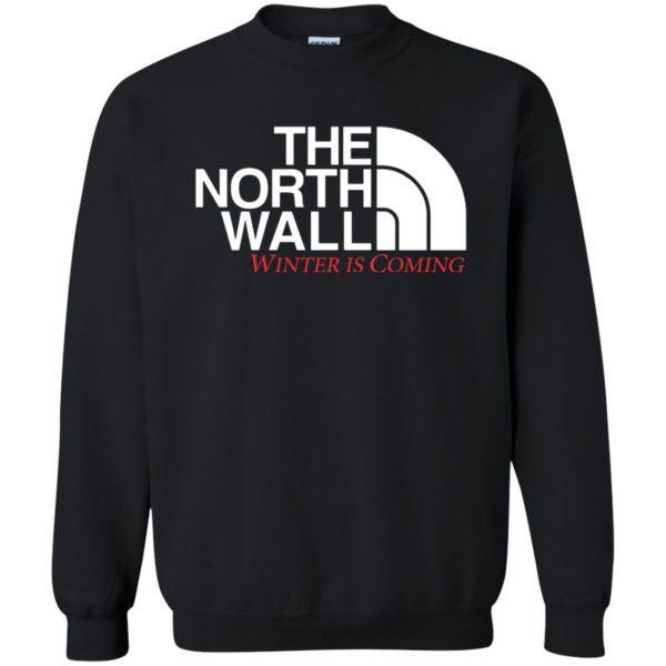 the north wall sweatshirt - black