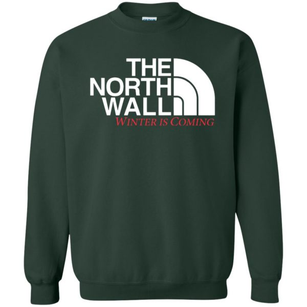 the north wall sweatshirt - forest green