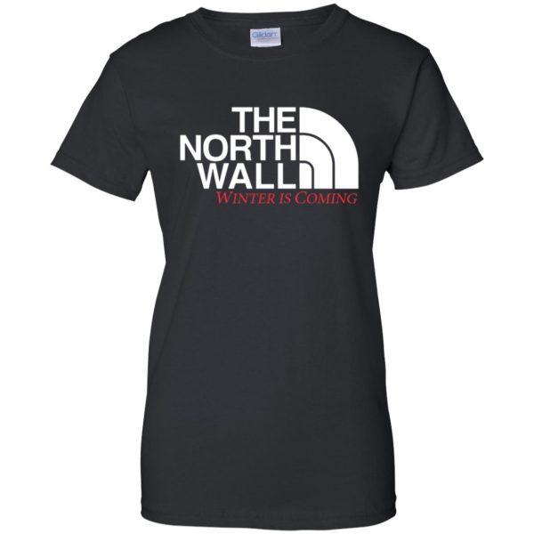 the north wall womens t shirt - lady t shirt - black