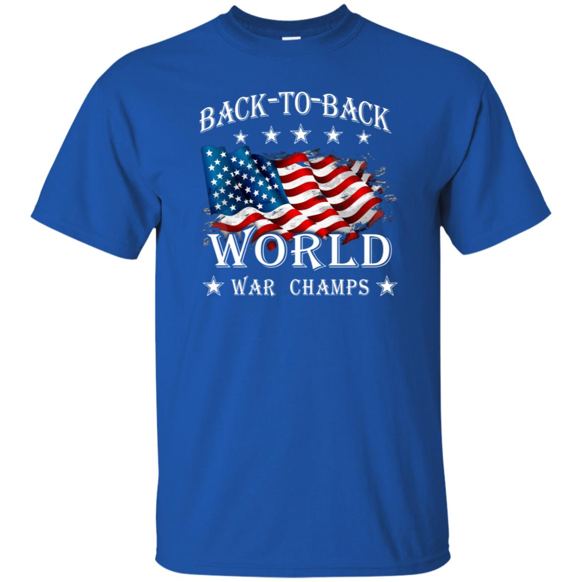 e5970b6a3 America Back To Back World War Champs Shirt - 10% Off - FavorMerch