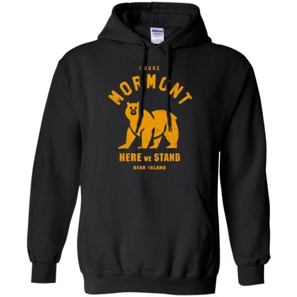 house mormont hoodie - black