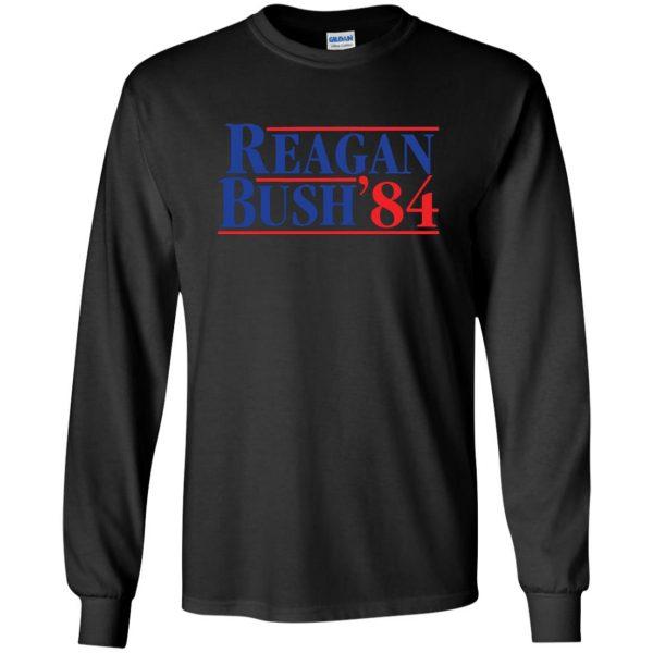 reagan bush 84 long sleeve - black