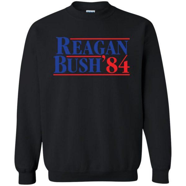 reagan bush 84 sweatshirt - black
