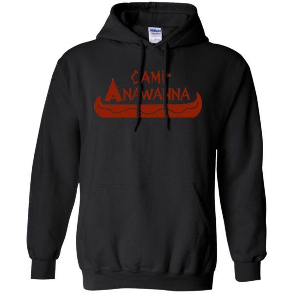 camp anawanna hoodie - black
