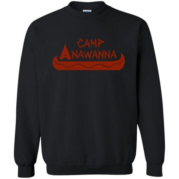 camp anawanna sweatshirt - black