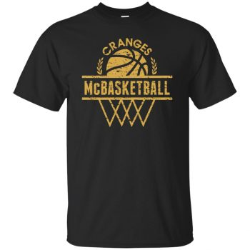 cranges mcbasketball shirt - black