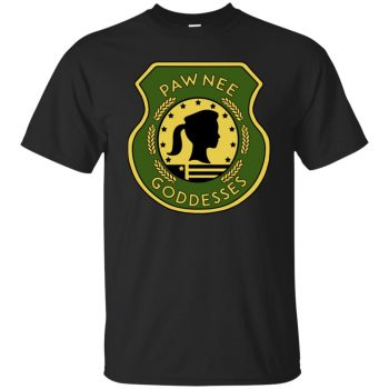 pawnee goddesses shirt - black