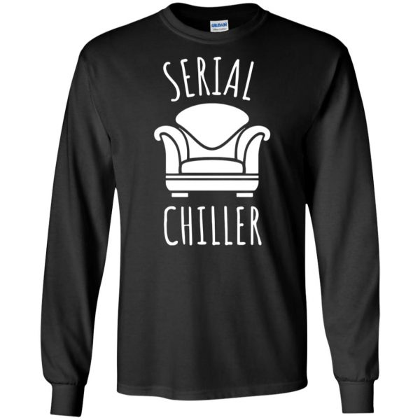 serial chiller long sleeve - black