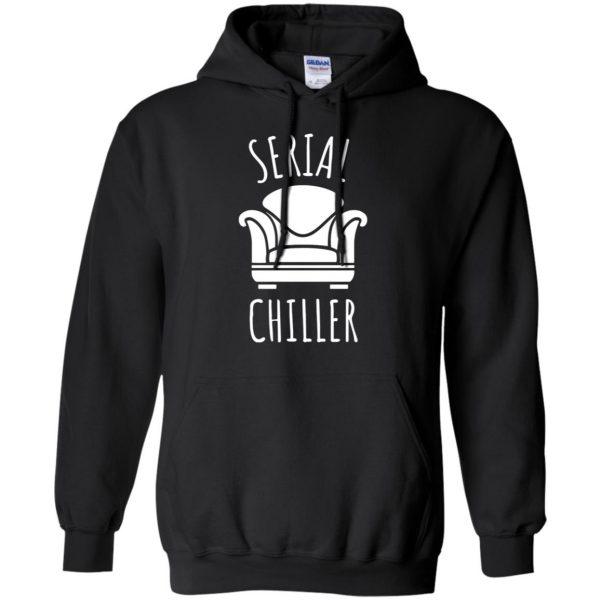 serial chiller hoodie - black
