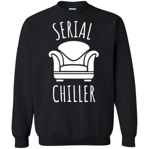 serial chiller sweatshirt - black
