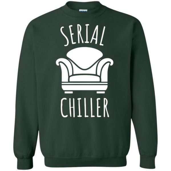 serial chiller sweatshirt - forest green