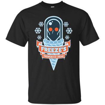 mr freeze shirt - black