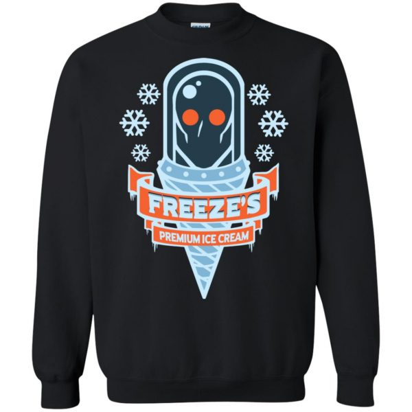 mr freeze sweatshirt - black