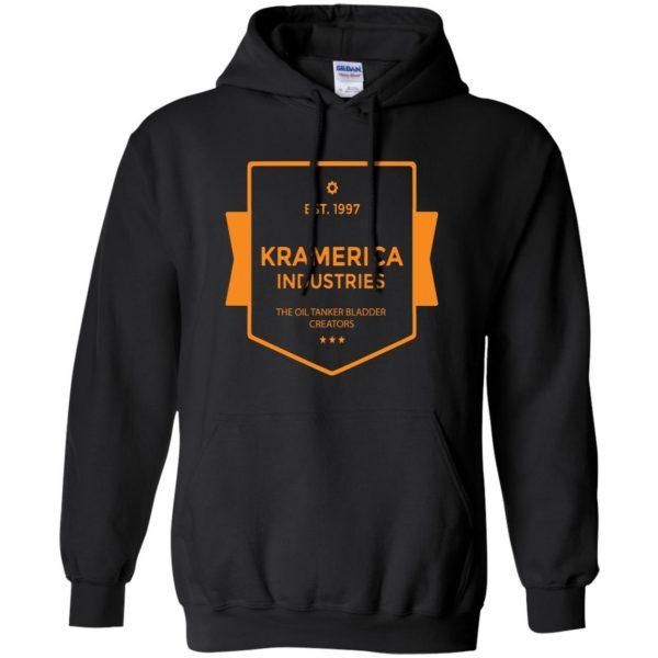 kramerica industries hoodie - black