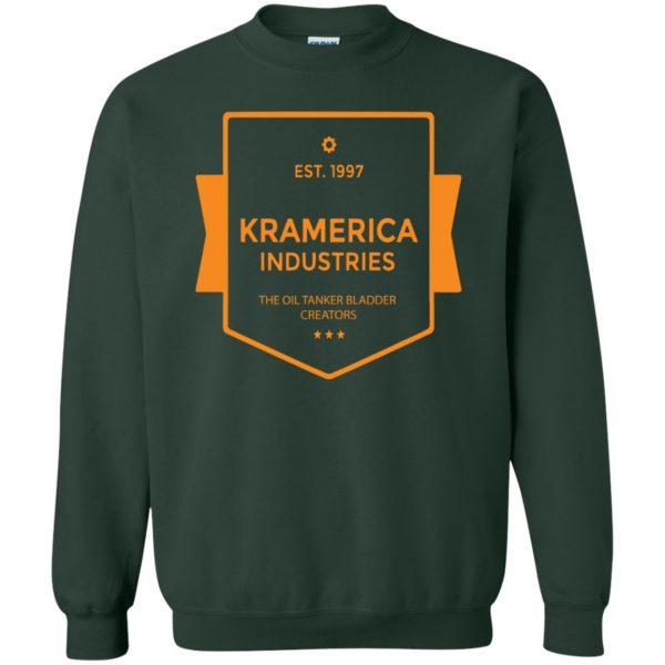 kramerica industries sweatshirt - forest green