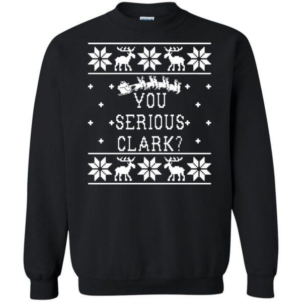 you serious clark sweatshirt - black