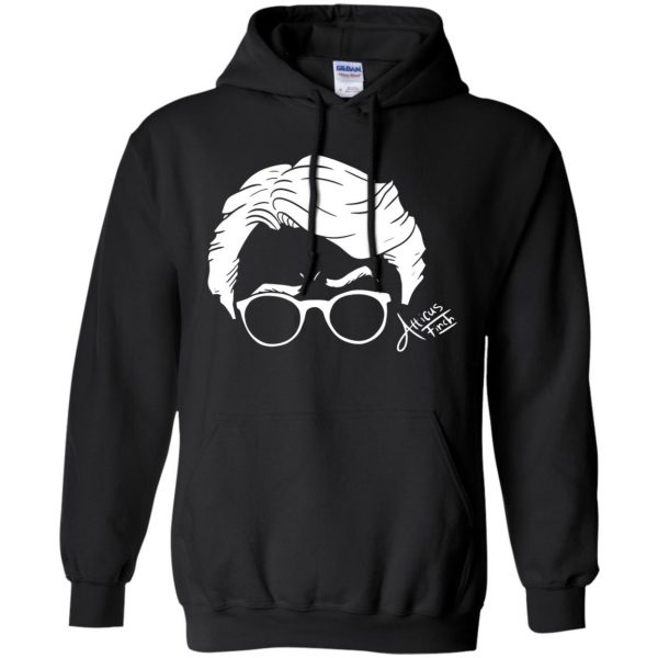 atticus finch hoodie - black
