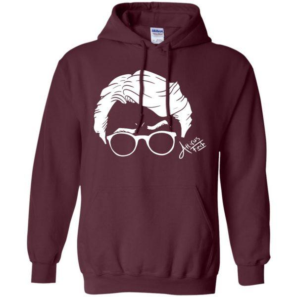 atticus finch hoodie - maroon
