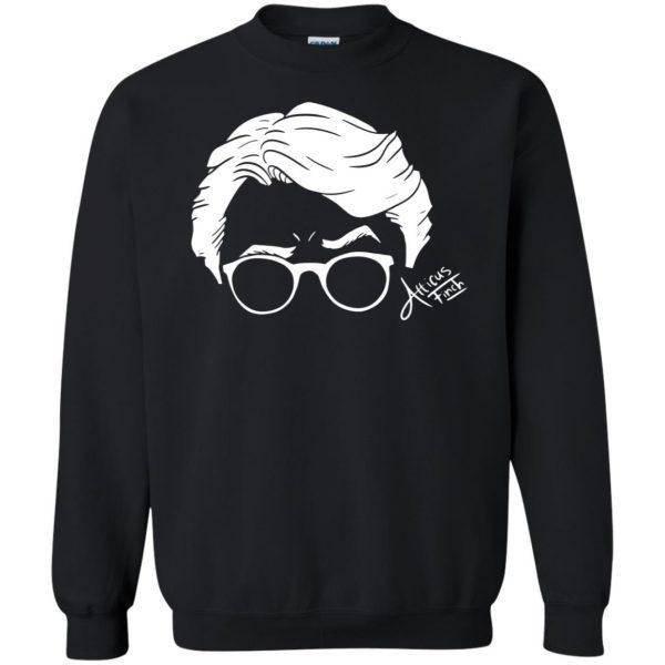 atticus finch sweatshirt - black