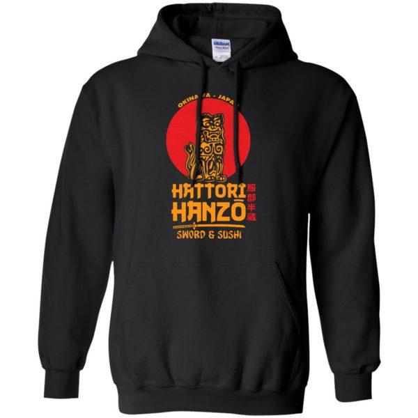 hattori hanzo hoodie - black