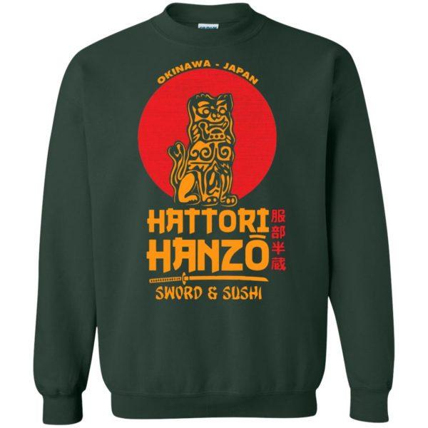 hattori hanzo sweatshirt - forest green