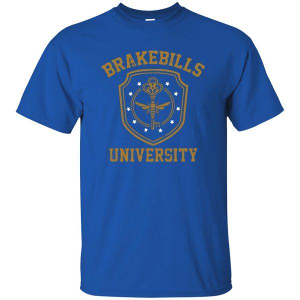 brakebills t shirt - royal blue