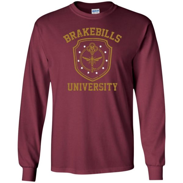 brakebills long sleeve - maroon