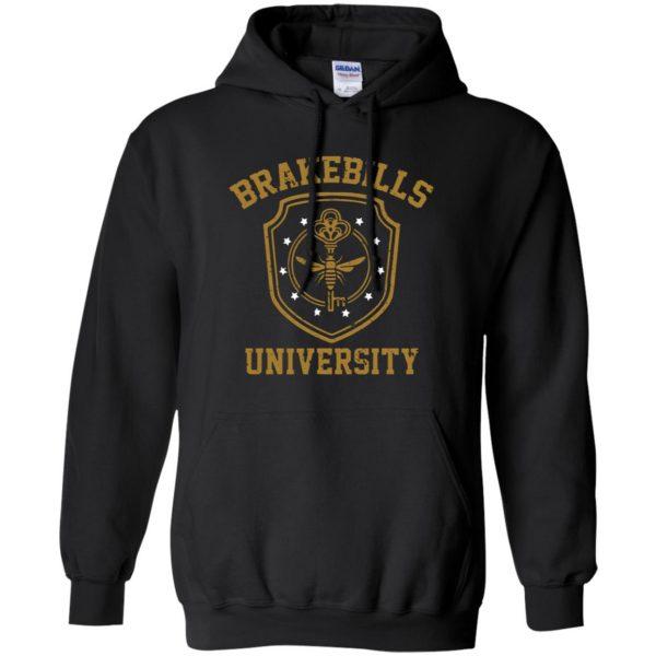 brakebills hoodie - black