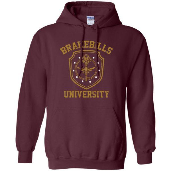 brakebills hoodie - maroon