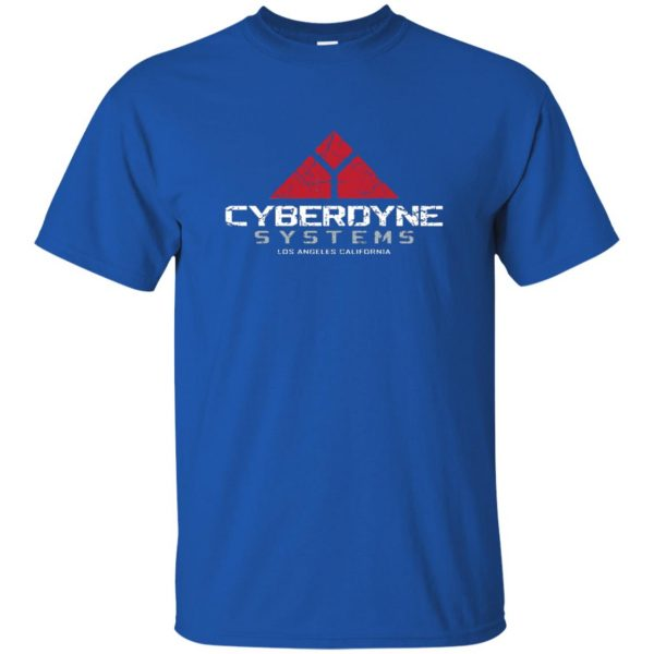 cyberdyne systems t shirt - royal blue